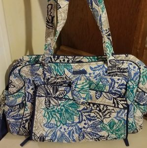 Vera Bradley diaper bag with changing pad